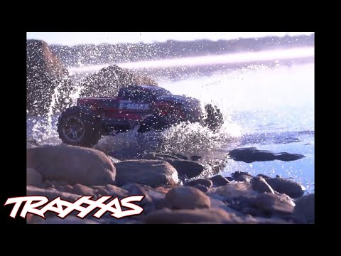 Traxxas E-Maxx Brushless Edition – Now with Waterproof Electronics!