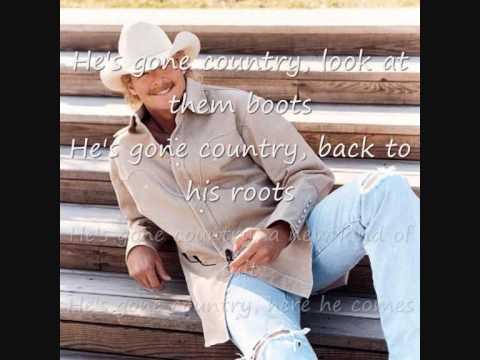 Alan Jackson - Gone Country lyrics