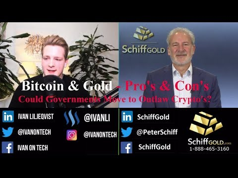 Discussing Bitcoin, Gold & Fiat Currencies in 2018 - Peter Schiff &Ivan on Tech i Interviewnterview
