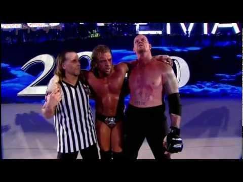 Result Undertaker vs Triple H in video ! (HD)
