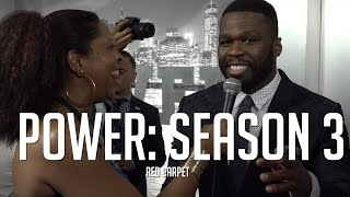 "50 Cent and More Turn Out for ""Power"" Season 3 Red Carpet!"