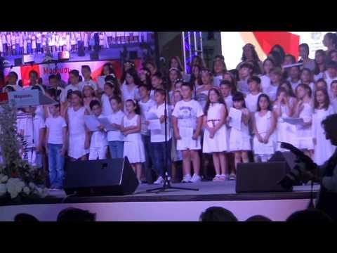 REPORTAZ «Ταξιδιώτες του Ονείρου»: Μεγάλη συναυλία αγάπης με τον Γ. Χατζηνάσιο και 300 παιδιά 15-6-2017