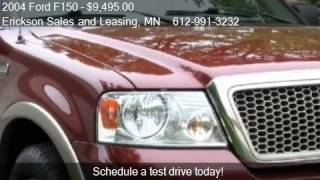 2004 Ford F150 Lariat SuperCab 4WD - for sale in Blaine, MN