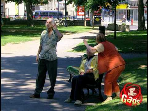 Deaf Old Man And Crazy Wife Prank