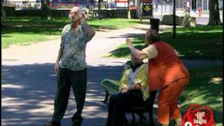 Just For Laughs TV - Deaf Old Man And Crazy Wife Prank