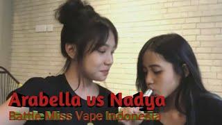 Video Best Trik Miss Vape Indonesia Arabella Hafidz and Nadya Luqyna MP3, 3GP, MP4, WEBM, AVI, FLV Juli 2018