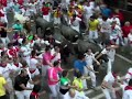 Raw: 2 Americans Gored in Running of the Bulls