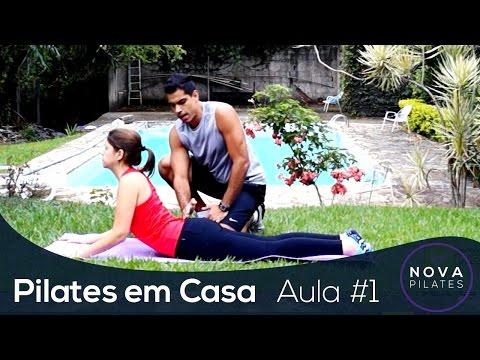 Pilates em Casa – Aula Nº1 – NÍVEL INICIANTE