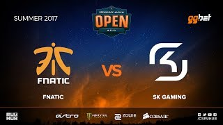 fnatic vs SK Gaming - DREAMHACK Open Summer - map3 - de_mirage [MintGod, CrystalMay]
