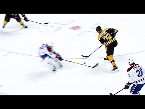 Video: Chara shows off great hands as he dekes around Radulov to score