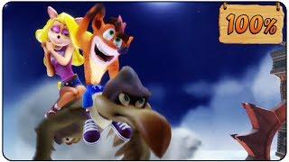 Crash Bandicoot: N. Sane Trilogy - 100% Walkthrough - Crash Bandicoot 100% Complete Walkthrough Full Game Longplay All 26 Gems00:00 - Intro 01:20 - N. Sanity Beach (1st Gem)03:51 - Boulders (2nd Gem)05:45 - Papu Papu (Boss)07:20 - Hog Wild (3rd Gem)09:14 - Up the Creek (4th Gem)13:13 - Ripper Roo (Boss)15:17 - The Lost City (GREEN Gem)(5th Gem)21:18 - Jungle Rollers Green Gem required (6th Gem)24:21 - Temple Ruins (7th Gem)28:37 - Sunset Vista (8th Gem & 1st Key)38:06 - Whole Hog (9th Gem)39:48 - Koala Kong (Boss)41:14 - Heavy Machinery (10th Gem)48:36 - Generator Room (ORANGE Gem)52:37 - Upstream (Orange Gem required (12th Gem)56:05 - Toxic Waste (BLUE Gem)59:00 - Rolling Stones (Blue Gem required) (14th Gem)1:03:14 - Cortex Power (Blue Gem required)(15th Gem)1:10:25 - Pinstripe Potoroo (Boss)1:12:16 - The High Road (16th Gem)1:16:37 - Slippery Climb (RED Gem)(17th Gem)1:21:56 - Native Fortress (Red Gem required)(18th Gem)1:28:10 - Road to Nowhere (Red Gem required)(19th Gem)1:34:20 - Jaws of Darkness (Blue Gem required)(20th Gem& Key)1:41:59 - Fumbling in the Dark (21th Gem)1:45:15 - Castle Machinery (22th Gem)1:49:30 - Dr. Nitrus Brio (Boss)1:51:43 - The Lab (YELLOW Gem)(23th Gem)1:55:20 - The Great Gate (Yellow Gem required) (24th Gem)2:01:02 - Lights Out (PURPLE Gem)(Yelolow Gem required)(25th Gem)2:03:08 - Boulder Dash (Purple Gem required) (26th Gem)2:06:16 - The Great Hall (100% Ending)2:09:13 - Dr. Neo Cortex (Boss)2:10:50 - Ending & Credits