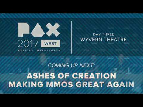 Ashes of Creation - PAX West FULL Panel