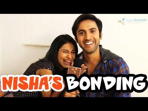 Nisha's bonding with her Co-stars