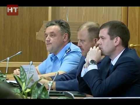 В правительстве Новгородской области обсудили вопросы строительства трассы М-11