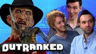 Top 10 Scariest Horror Movies - OUTRANKED TRIVIA GAME SHOW Ep. 1