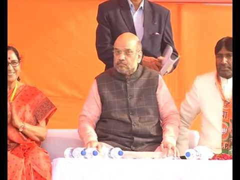 Shri Amit Shah addresses public meeting in Firozabad, Uttar Pradesh : 04.02.2017