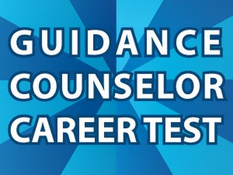 Guidance Counselor Career Test