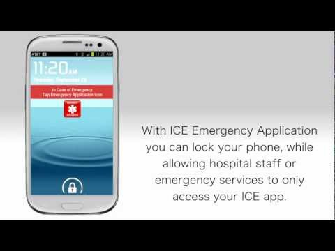 Video of In Case of Emergency (ICE)
