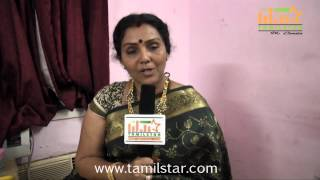 Fathima Babu Speaks at Muthu Kumar Wanted Movie Shooting Spot