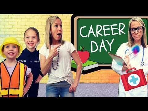 It's Career Day at Toy School
