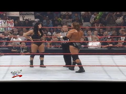Women Vs Man Match - Chyna Vs Triple H Raw 1999 720p HD Full Match