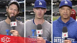 Los Angeles Dodgers' Clayton Kershaw, Cody Bellinger, Dave Roberts on World Series | SportsCenter