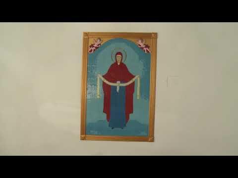 Глава государства посетил церковь «Покров Богородицы» в селе Мичурин Дрокиевского района