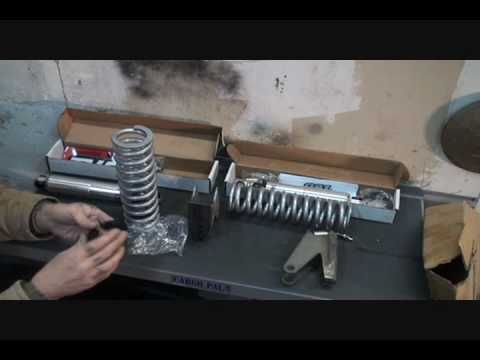 1961 GMC Rat Rod TRUCK-How To Install Rear Coil Over Shocks, Part 1