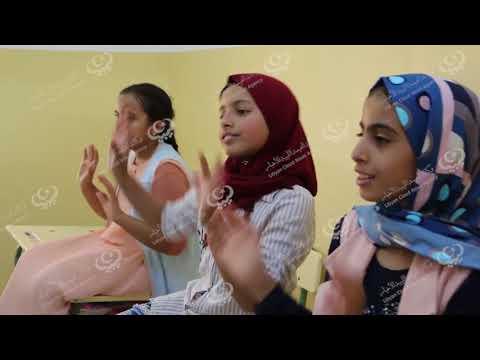 للمرة الأولي دروة تدريبية في اللغة الإنجليزية لأطفال مدينة إجخرة