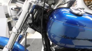 9. 2005 Harley-Davidson FXSTDI Softail Deuce Blue - used motorcycle for sale - Eden Prairie, MN