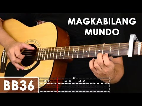 Magkabilang Mundo – Jireh Lim Guitar Tutorial (includes chords, strumming, adlib – solo lesson)