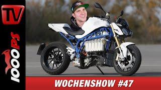 BMW R18 Motor, Ridermania 2019 und vieles Mehr! 1000PS Wochenshow #47