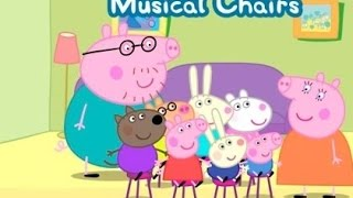 Peppa Pig's Party Time – Musical Chairs   Best Video About Peppa Pig for Children