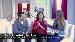 Rocío Ramos y Luis Torres, autores de 'Niños: instrucciones de uso'. 17-3-2014