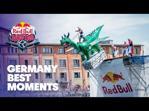 New WORLD RECORD Flight At Red Bull Flugtag Germany 2012