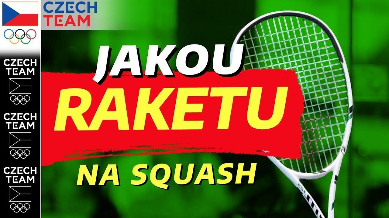 Jak vybrat raketu na squash❓| Squash podle Koukiho