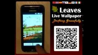 Leaves Live Wallpaper YouTube video