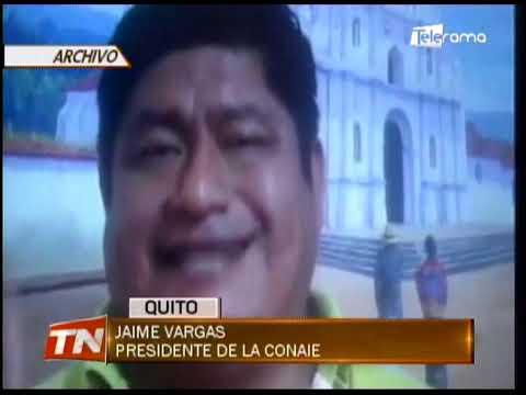 Asambleístas cuestionan que Vargas se proclame segundo presidente de Ecuador