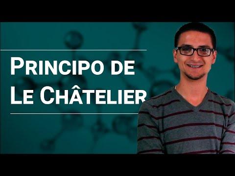 Equilibrio químico: Principio de Le Chatelier