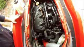 9. Seadoo 4-Tec Oil Change