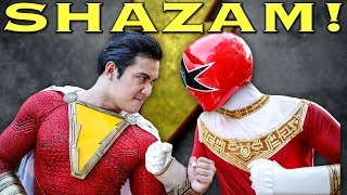 May The Power Flow Through You - feat. SHAZAM [FAN FILM] Power Rangers | DC