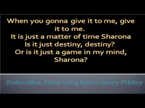My Sharona-The Knack-Lyrics