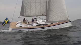 Hallberg Rassy 44 Sailing