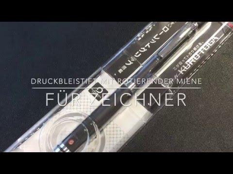 Druckbleistift mit rotierender Miene im Test – Uni Kuru Toga Roulette Model | Scahchow