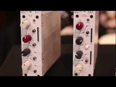 Rupert Neve Designs Talk To Pro Tools Expert About Their New 500 Series Units – NAMM 2013