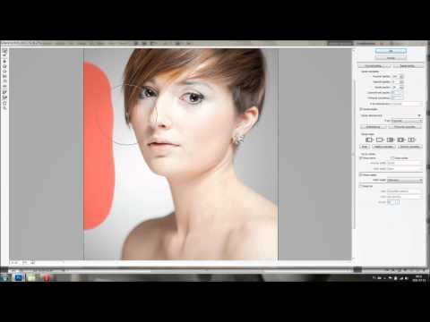 Korekcja portretu w Adobe Photoshop - poradnik wideo