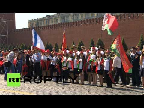 Сегодня на Красной площади