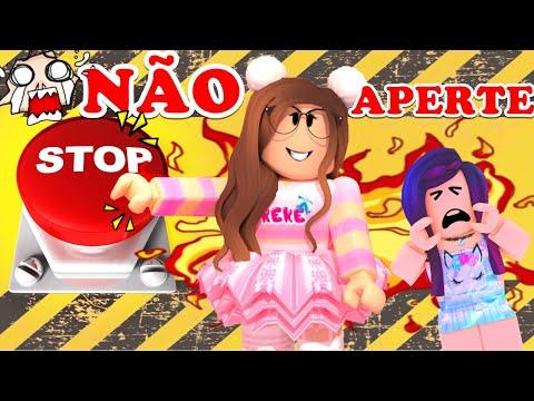 NÃO APERTE O BOTÃO KEKE!!! Don't Press the Button | Roblox