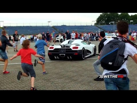 agera - This matte white Koenigsegg Agera R was without a doubt one of the most insane supercars that attended the event, and some people went CRAZY! This video incl...