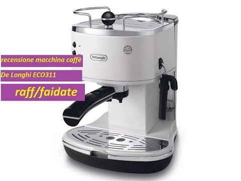 Recensione Macchina per espresso Eco311 De Longhi
